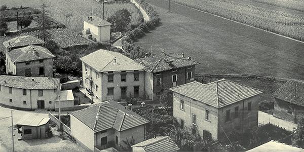 La prima sede del 1960