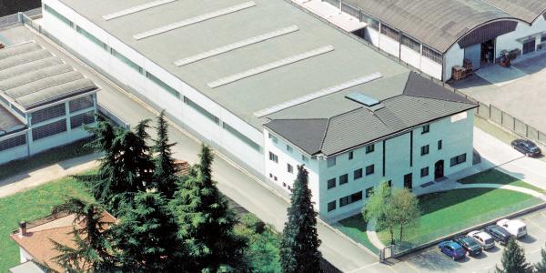 L'attuale sede Clivatech a Seriate